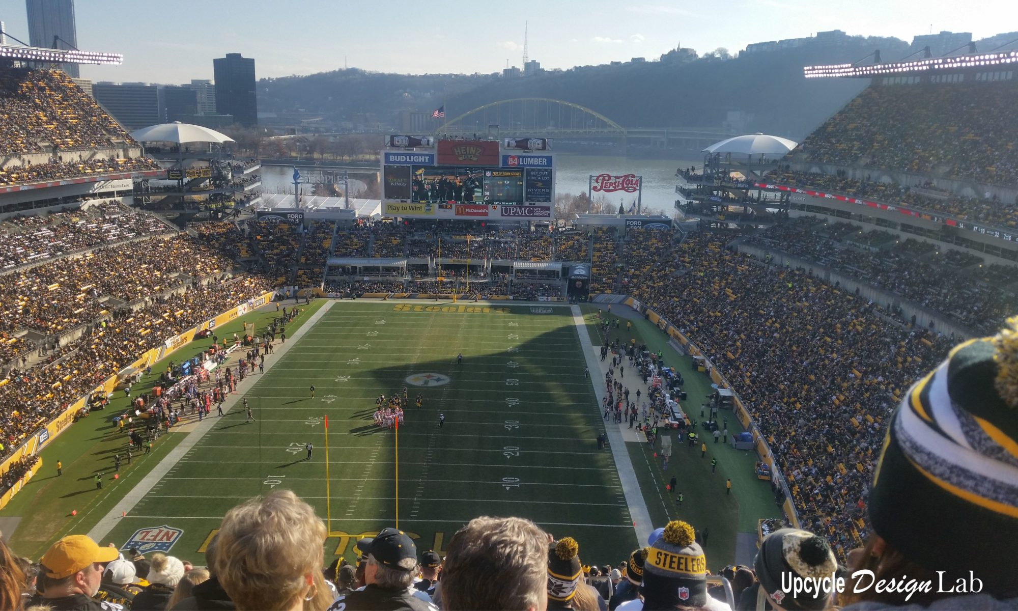 Game day at Heinz Field January 1, 2017