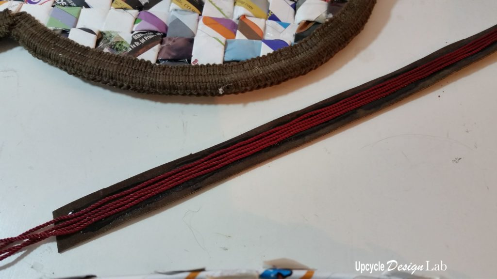 Making leather straps for added support