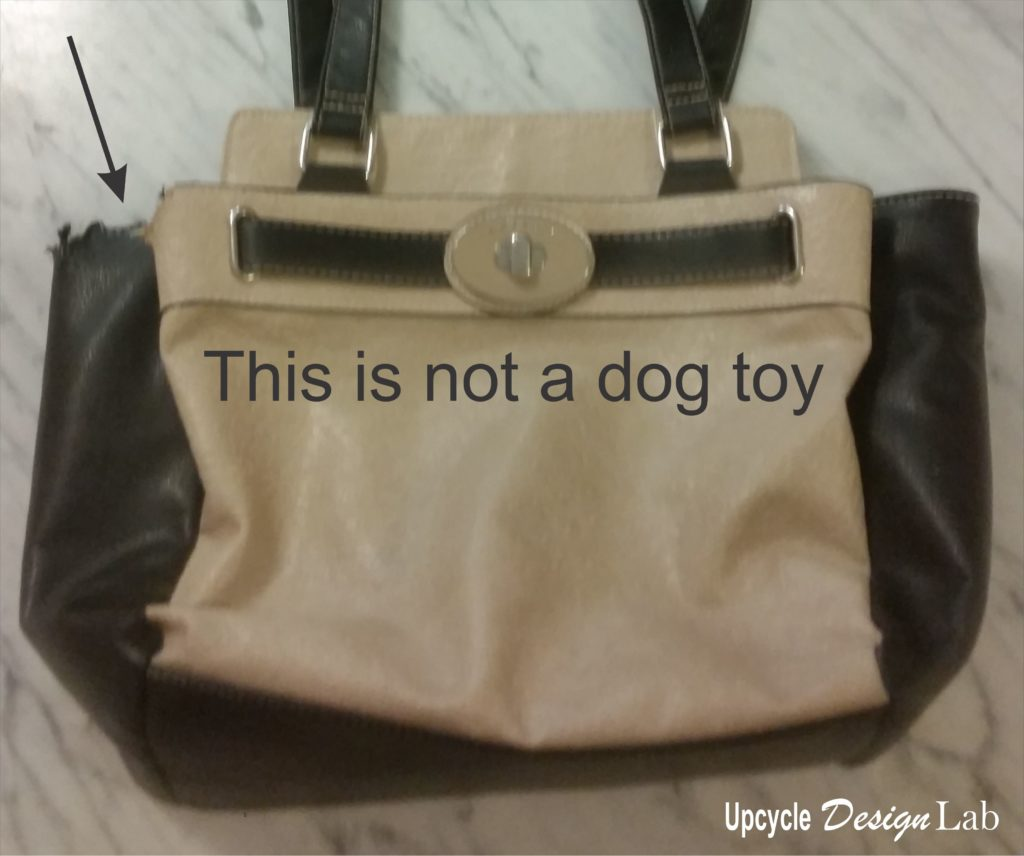 My purse is not a dog toy